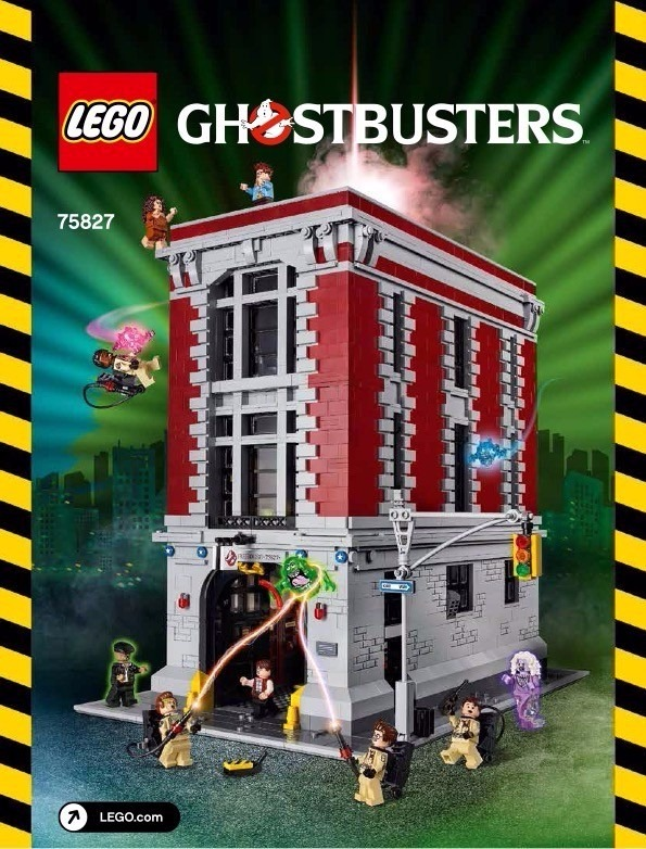 Lego ghostbusters headquarters instructions